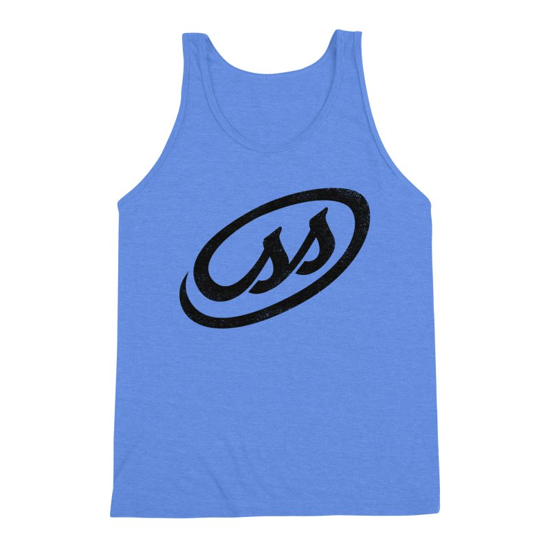 CSS Men's Triblend Tank by Border_Top