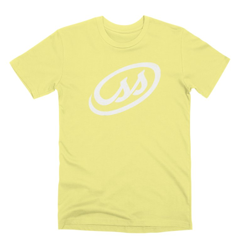 CSS (white) Men's Premium T-Shirt by Border_Top