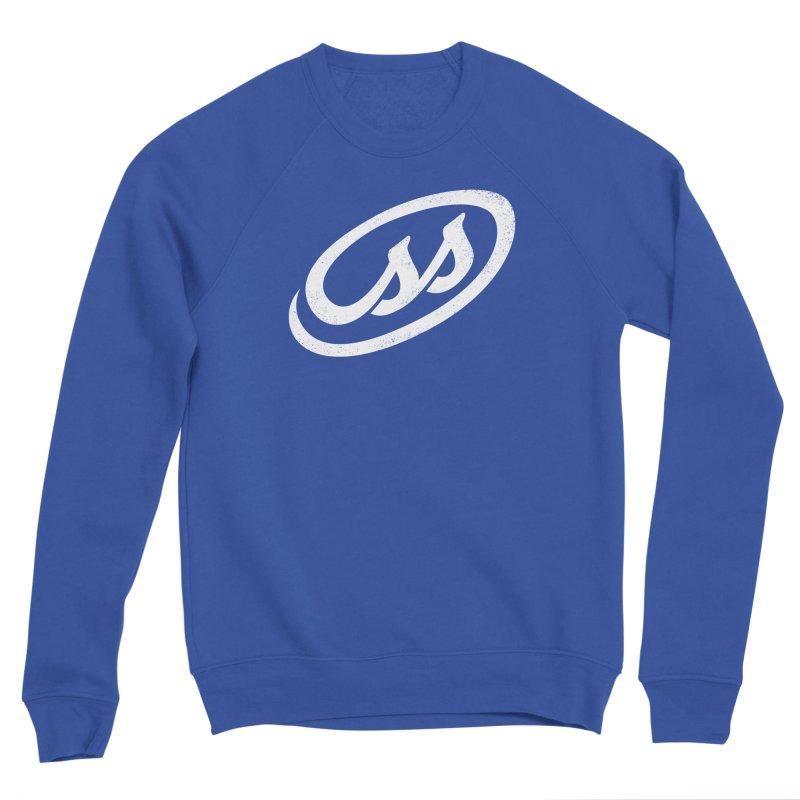 CSS (white) Men's Sponge Fleece Sweatshirt by Border_Top