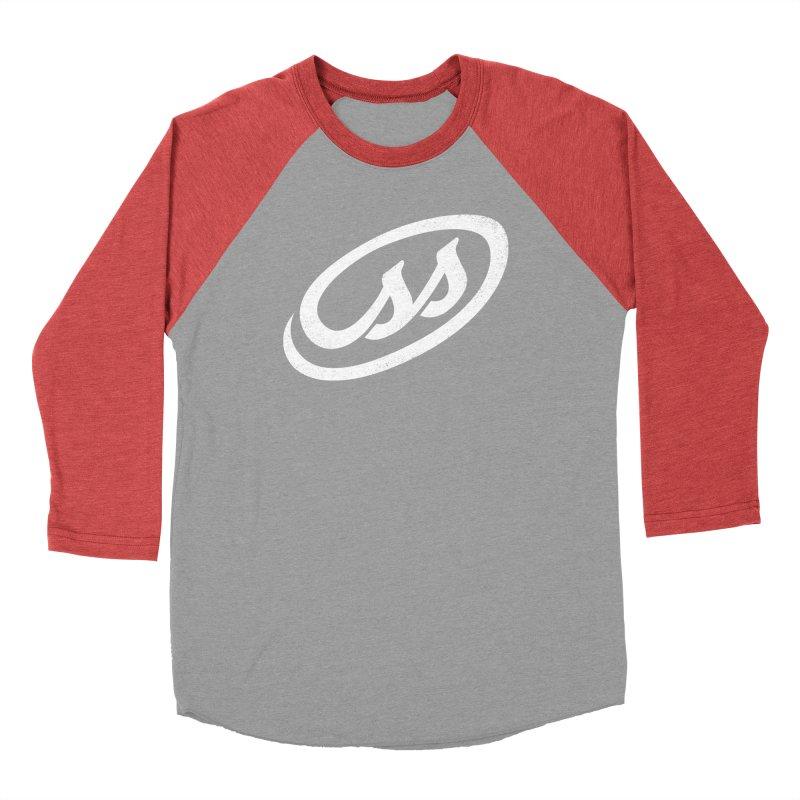 CSS (white) Women's Baseball Triblend Longsleeve T-Shirt by Border_Top