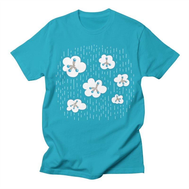 Clouds And Methane Molecules Chemistry Geek Women's Regular Unisex T-Shirt by Boriana's Artist Shop