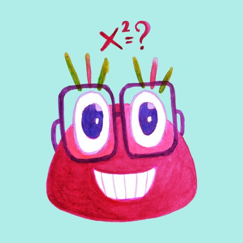 Design for Cute Math Candy Character