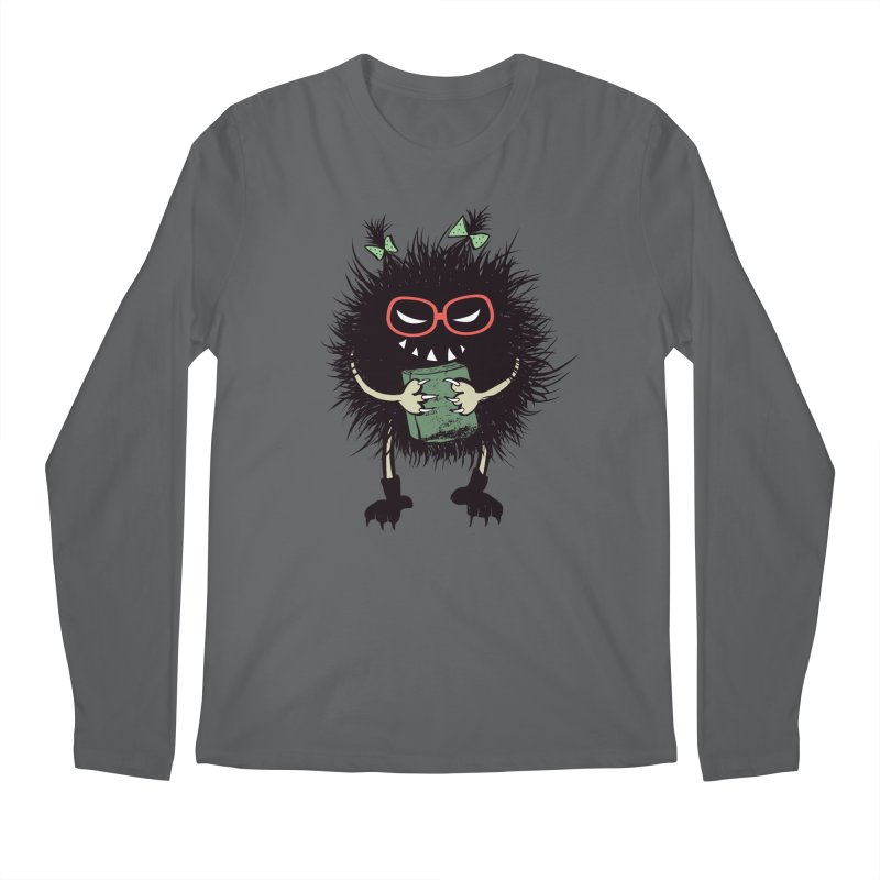 Evil Character Gothic Book Lover Men's Regular Longsleeve T-Shirt by Boriana's Artist Shop