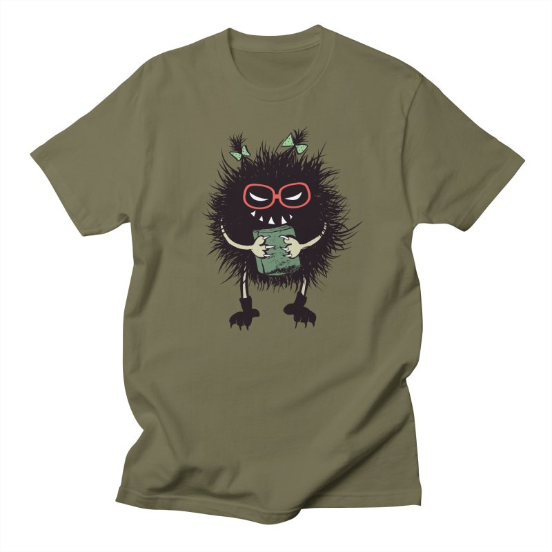 Evil Character Gothic Book Lover Women's Regular Unisex T-Shirt by Boriana's Artist Shop