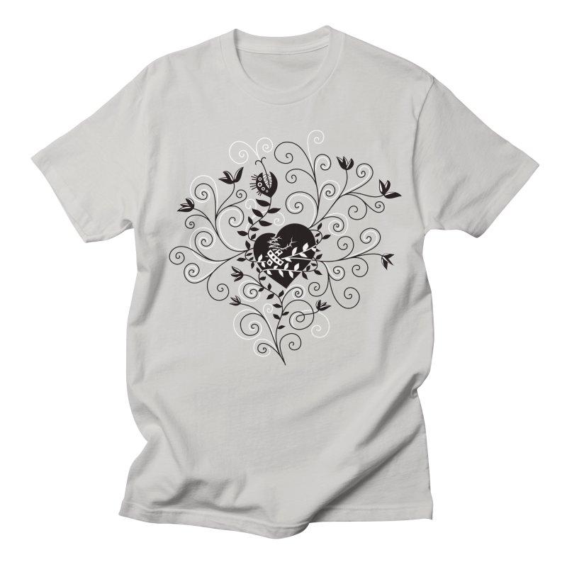 Broken Heart Is Fixed Men's T-Shirt by Boriana's Artist Shop
