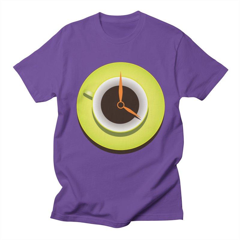 Coffee Time Women's Unisex T-Shirt by Boriana's Artist Shop