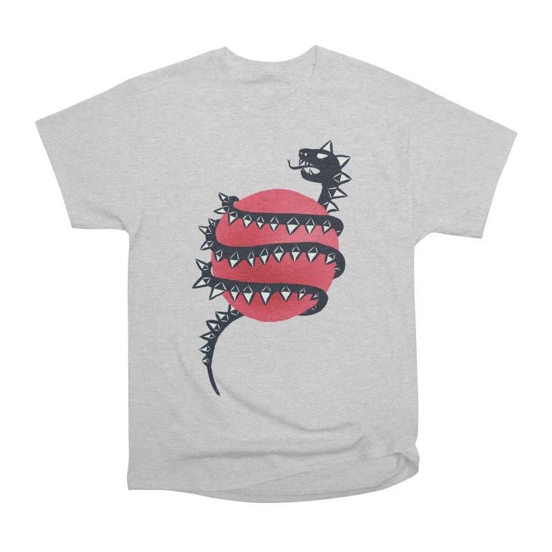 Dragon Snake Monster Men's Heavyweight T-Shirt by Boriana's Artist Shop