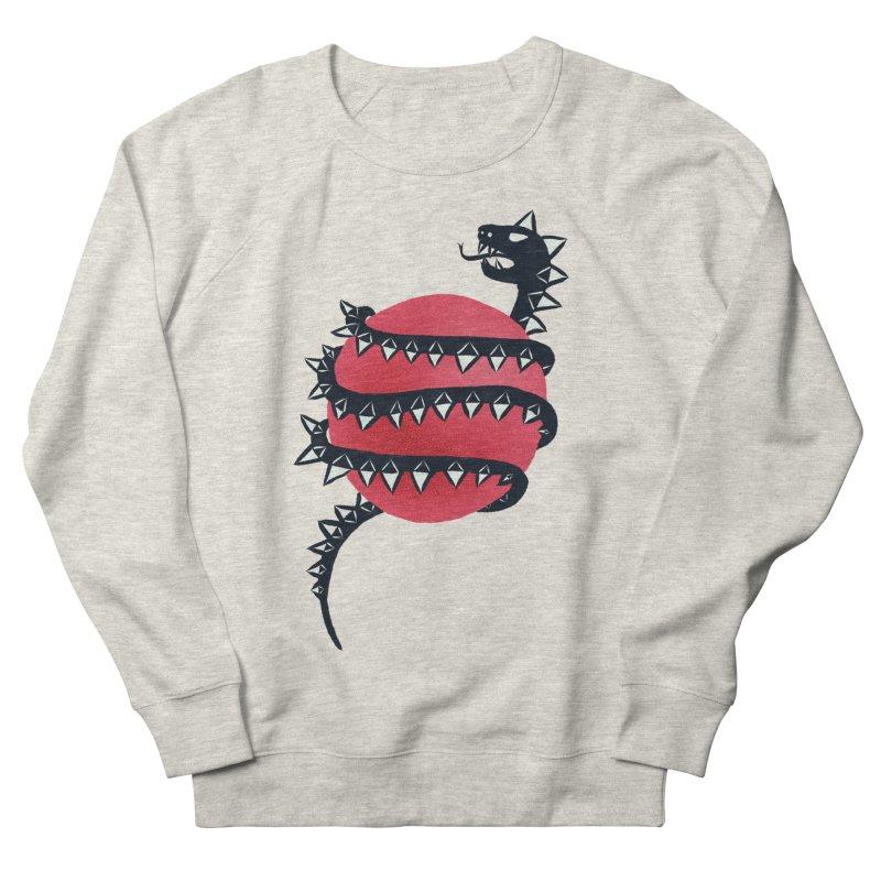 Dragon Snake Monster Men's French Terry Sweatshirt by Boriana's Artist Shop