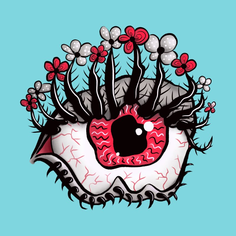 Weird Eye Melt Creepy Psycho Psychedelic Art by Boriana's Artist Shop