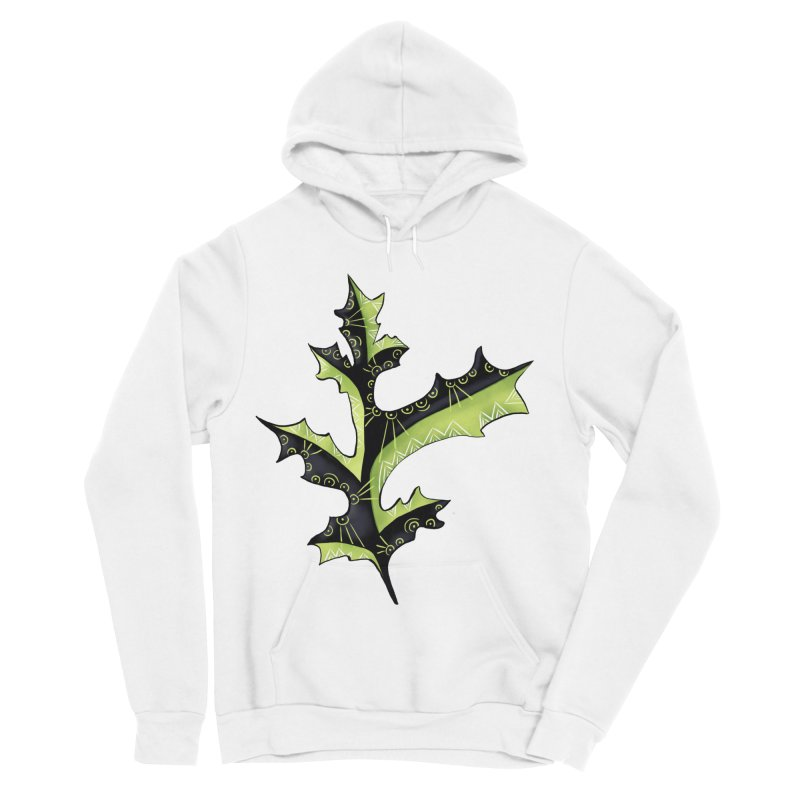 Tattooed Oak Leaf Women's Sponge Fleece Pullover Hoody by Boriana's Artist Shop