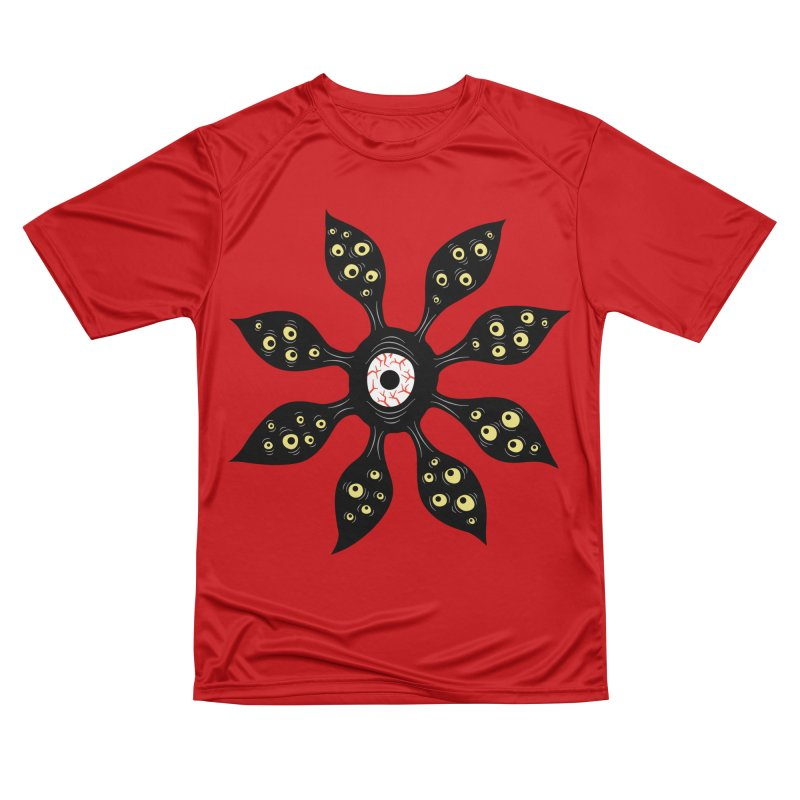 Creepy Witchy Eye Monster Men's Performance T-Shirt by Boriana's Artist Shop