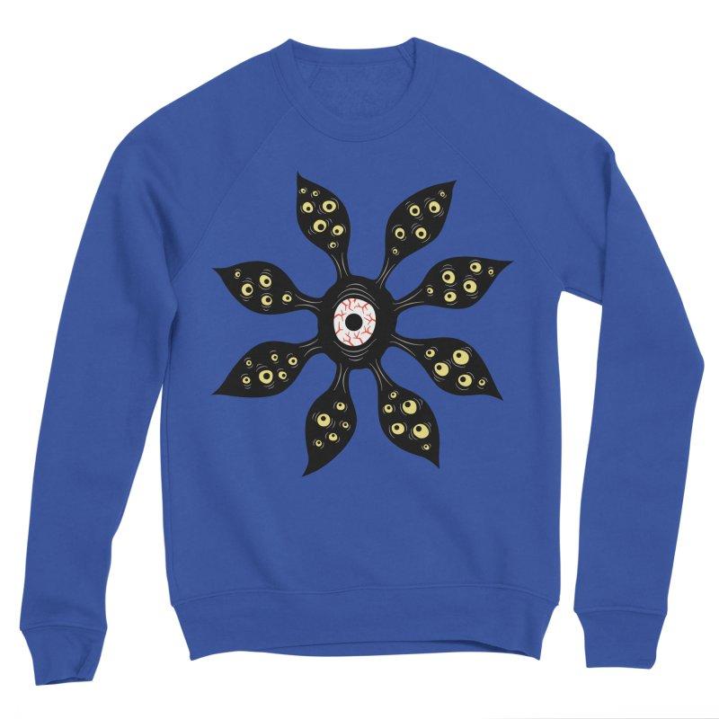 Creepy Witchy Eye Monster Women's Sponge Fleece Sweatshirt by Boriana's Artist Shop