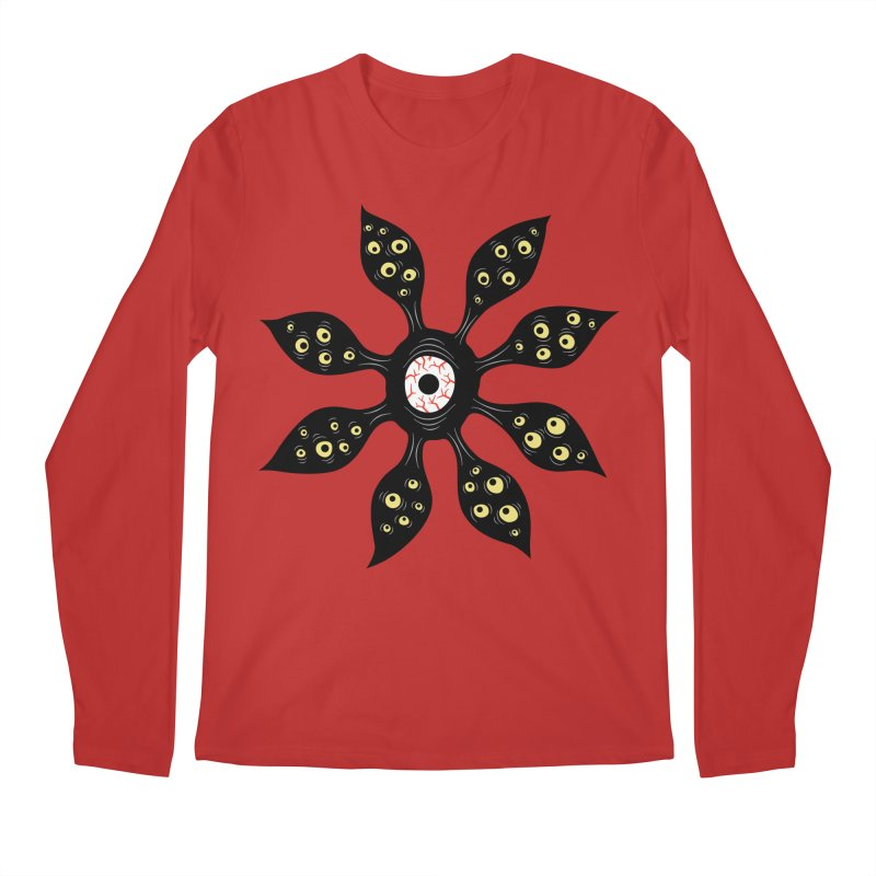 Creepy Witchy Eye Monster Men's Regular Longsleeve T-Shirt by Boriana's Artist Shop