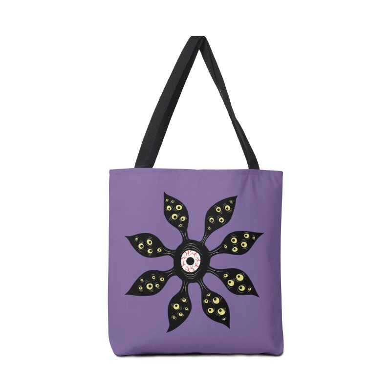 Creepy Witchy Eye Monster Accessories Tote Bag Bag by Boriana's Artist Shop