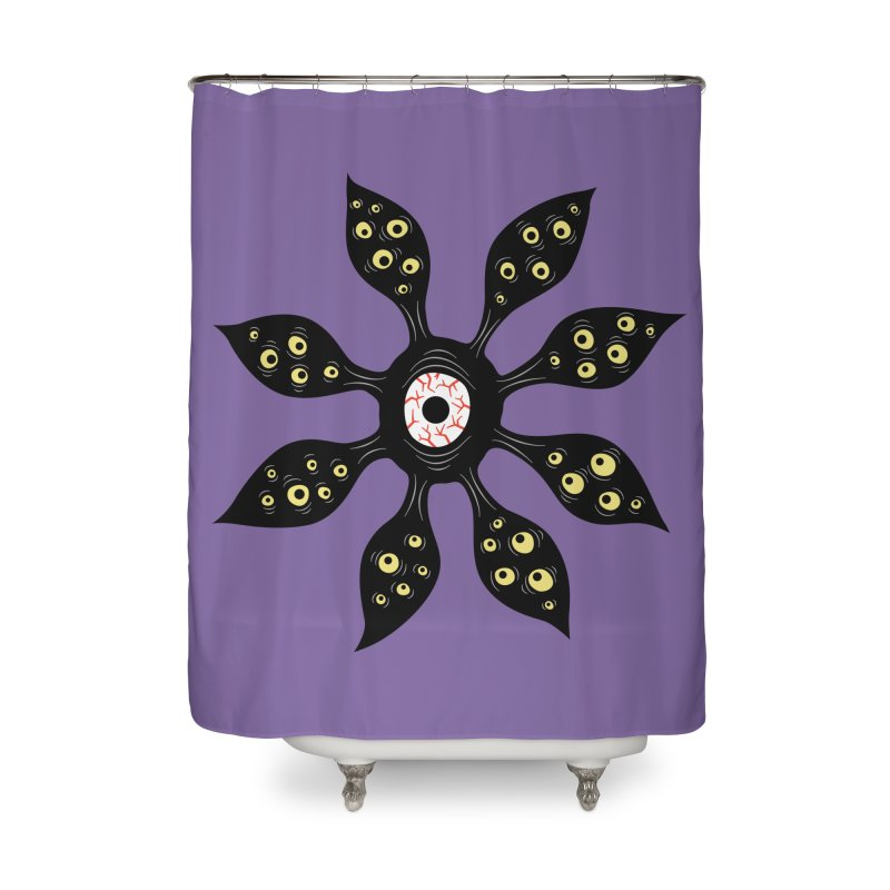 Creepy Witchy Eye Monster Home Shower Curtain by Boriana's Artist Shop