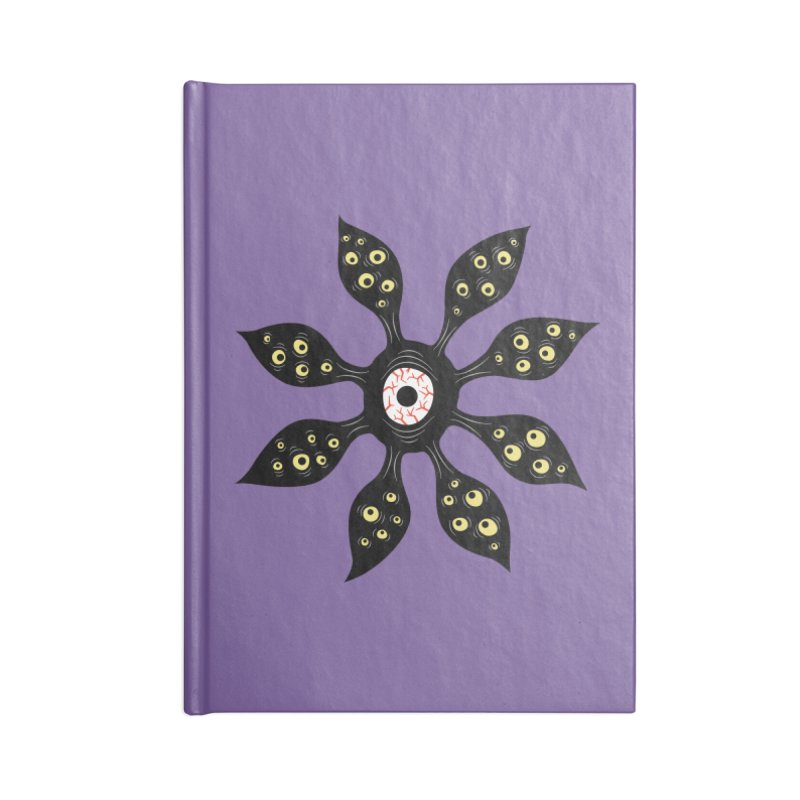 Creepy Witchy Eye Monster Accessories Blank Journal Notebook by Boriana's Artist Shop