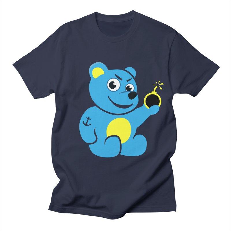 Evil Tattooed Teddy Bear Women's Unisex T-Shirt by Boriana's Artist Shop
