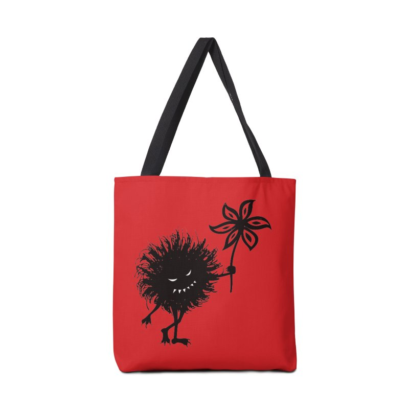 Evil Bug Gives Flower Accessories Bag by Boriana's Artist Shop