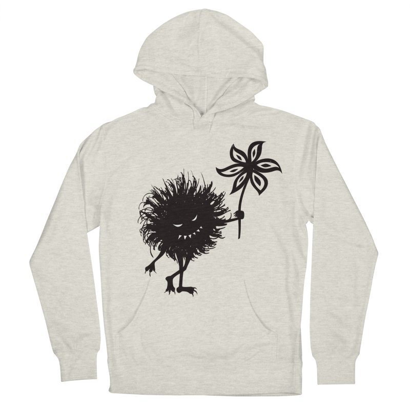 Evil Bug Gives Flower Men's Pullover Hoody by Boriana's Artist Shop