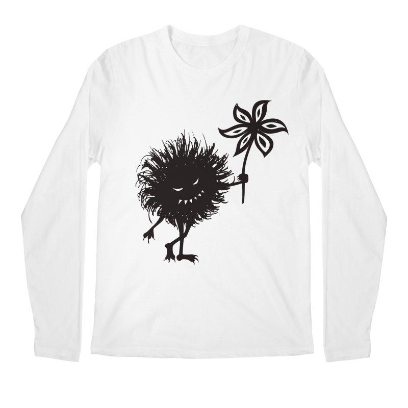 Evil Bug Gives Flower Men's Longsleeve T-Shirt by Boriana's Artist Shop