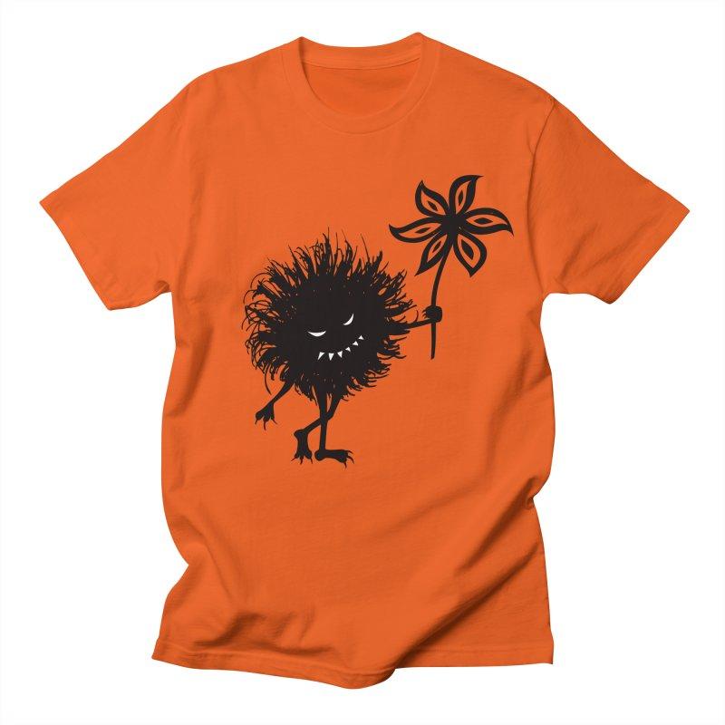 Evil Bug Gives Flower Women's Unisex T-Shirt by Boriana's Artist Shop