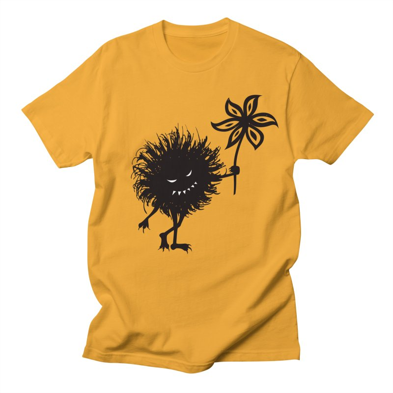 Evil Bug Gives Flower Men's T-shirt by Boriana's Artist Shop