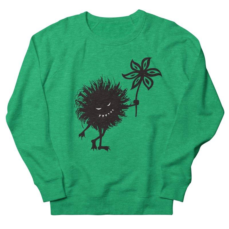 Evil Bug Gives Flower Men's Sweatshirt by Boriana's Artist Shop