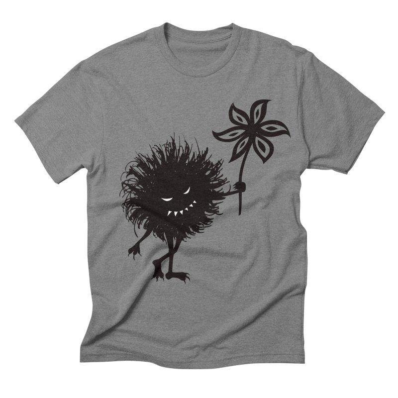 Evil Bug Gives Flower Men's Triblend T-shirt by Boriana's Artist Shop