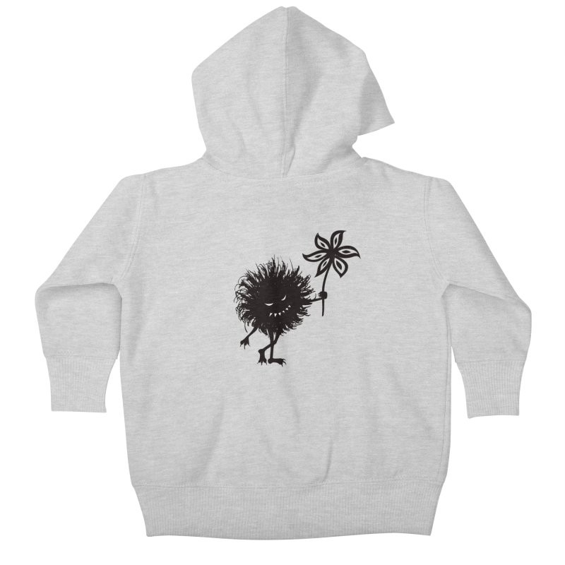 Evil Bug Gives Flower Kids Baby Zip-Up Hoody by Boriana's Artist Shop
