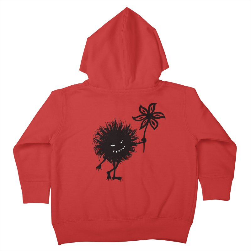 Evil Bug Gives Flower Kids Toddler Zip-Up Hoody by Boriana's Artist Shop