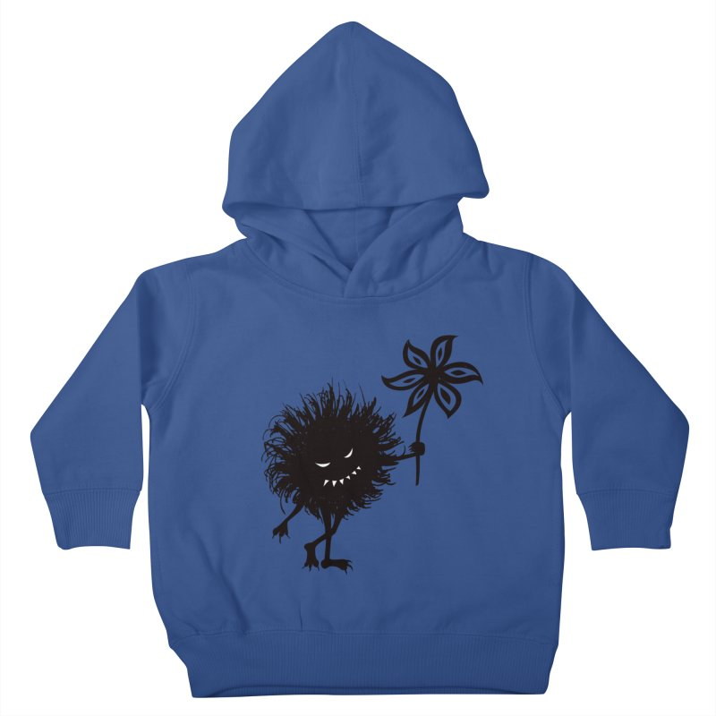 Evil Bug Gives Flower Kids Toddler Pullover Hoody by Boriana's Artist Shop
