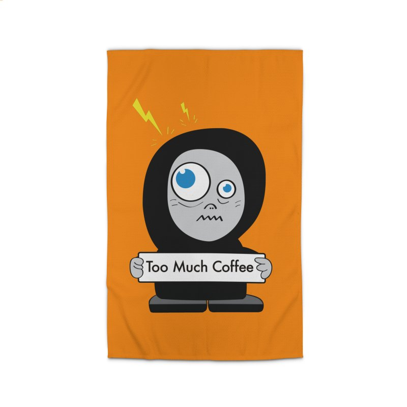 Too Much Coffee Home Rug by Boriana's Artist Shop