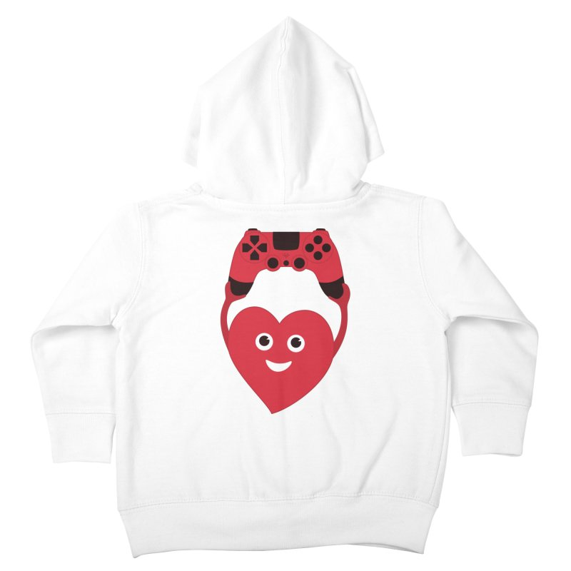 Gamer Heart Kids Toddler Zip-Up Hoody by Boriana's Artist Shop