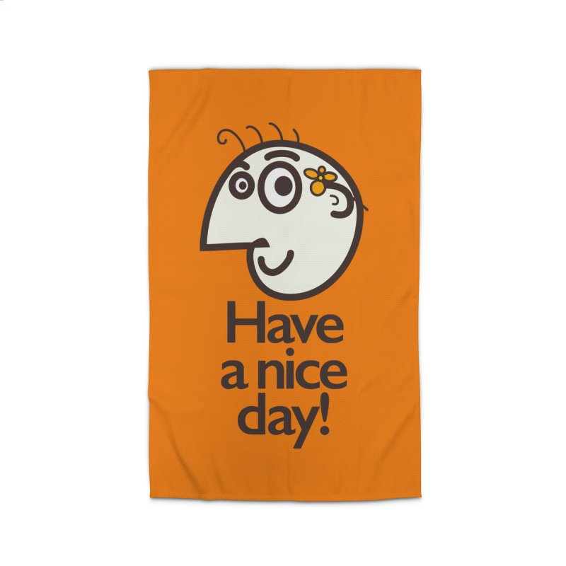 Have A Nice Day Home Rug by Boriana's Artist Shop