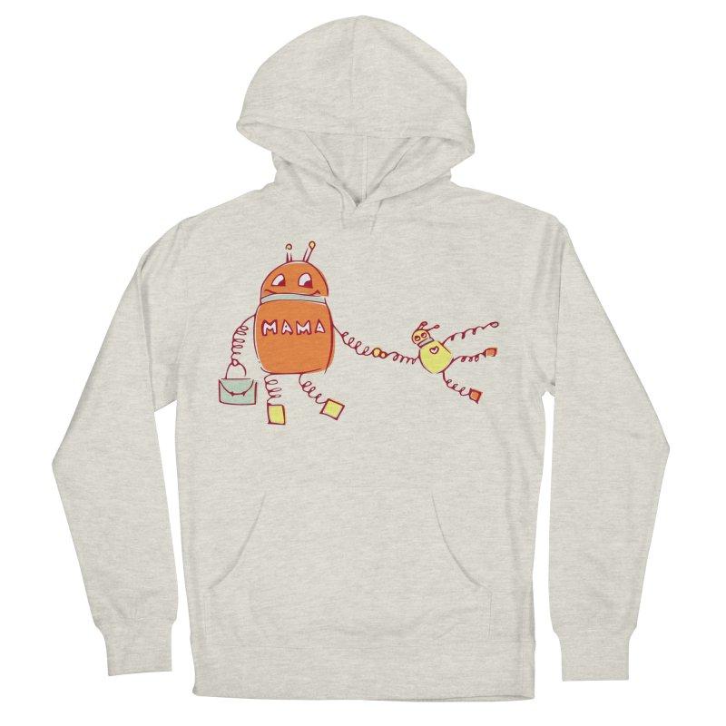Robomama Men's Pullover Hoody by Boriana's Artist Shop