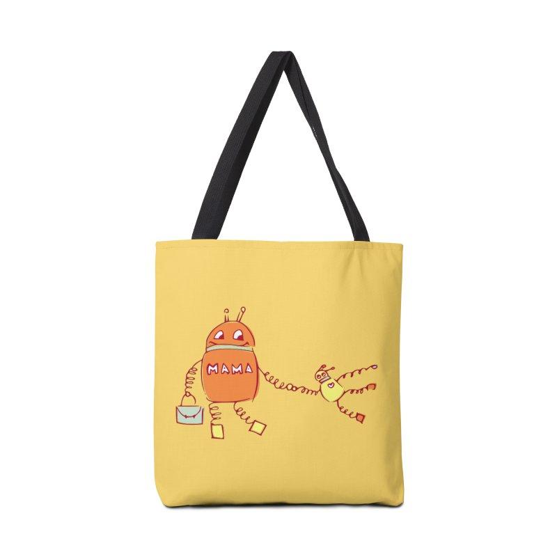 Robomama Accessories Bag by Boriana's Artist Shop
