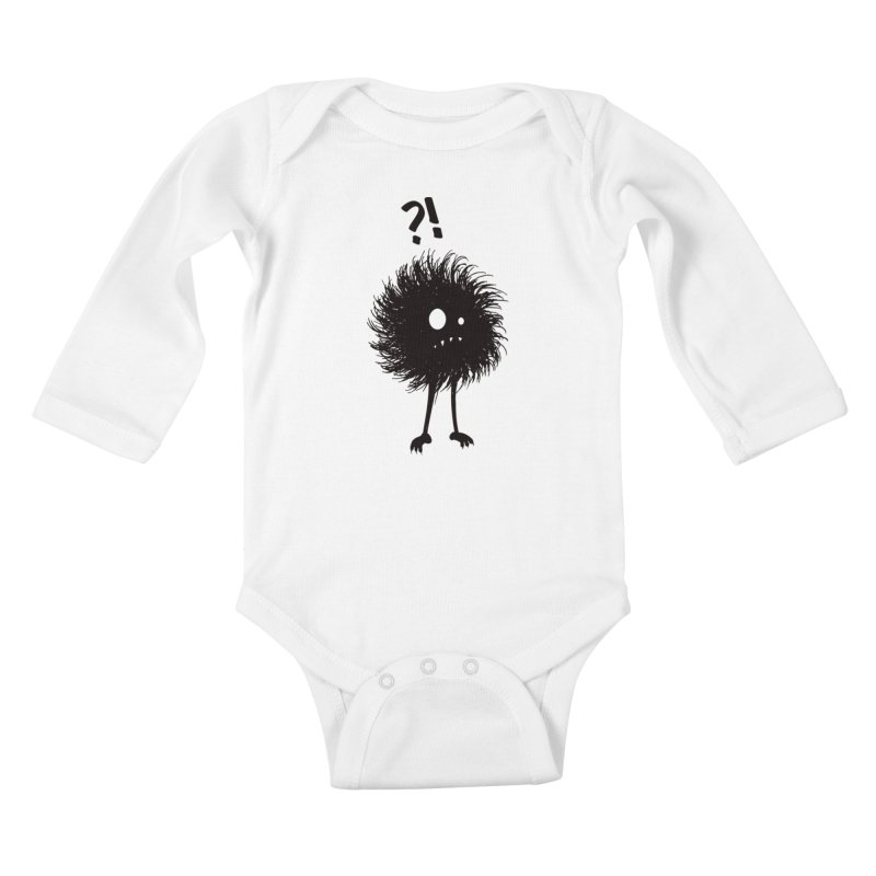 Wondering Evil Bug Kids Baby Longsleeve Bodysuit by Boriana's Artist Shop