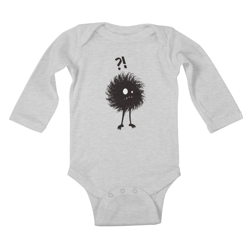 Wondering Evil Bug Kids Baby Longsleeve Bodysuit by Boriana's Artist Shop