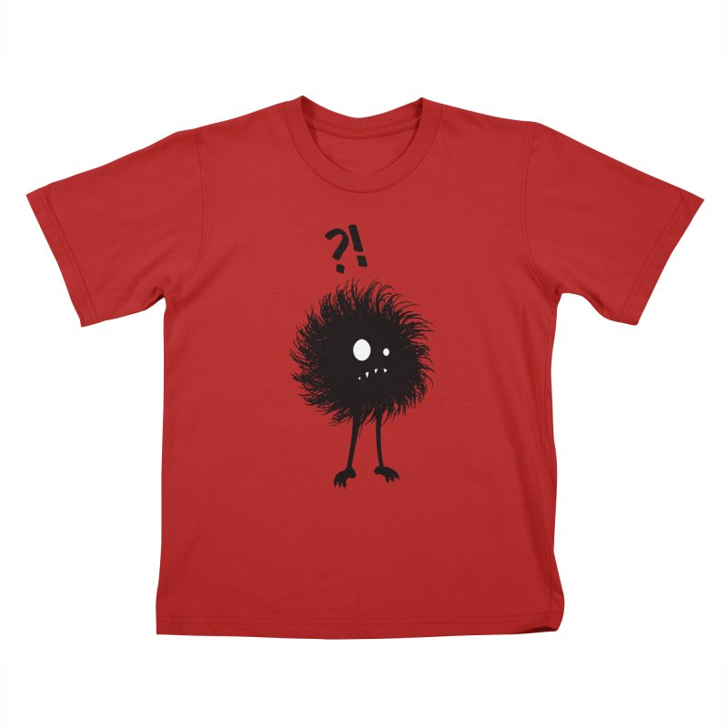 Wondering Evil Bug Kids T-shirt by Boriana's Artist Shop