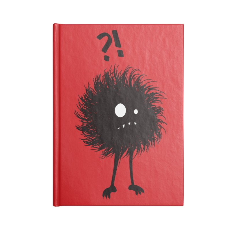 Wondering Evil Bug Accessories Notebook by Boriana's Artist Shop
