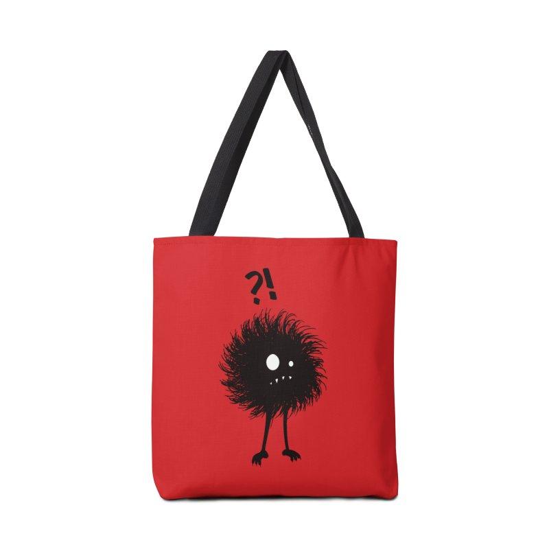 Wondering Evil Bug Accessories Bag by Boriana's Artist Shop