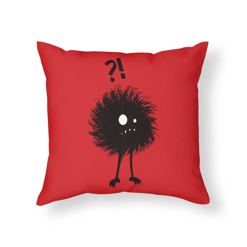Wondering Evil Bug Home Throw Pillow by Boriana's Artist Shop