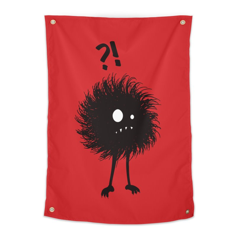 Wondering Evil Bug Home Tapestry by Boriana's Artist Shop