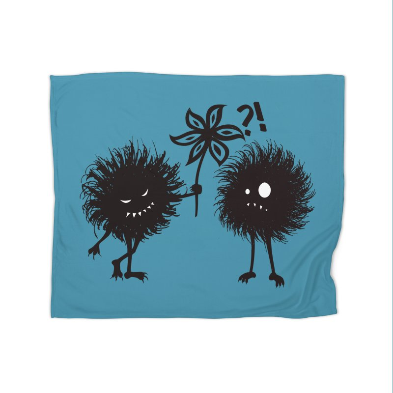 Kind Evil Bug Friends Home Blanket by Boriana's Artist Shop