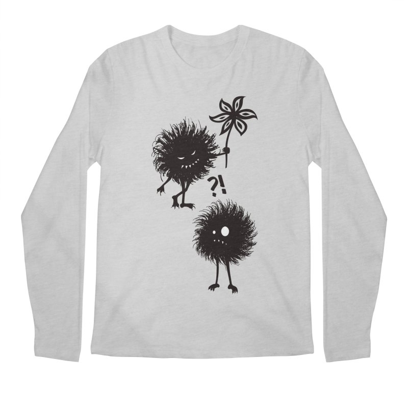 Kind Evil Bug Friends Men's Longsleeve T-Shirt by Boriana's Artist Shop