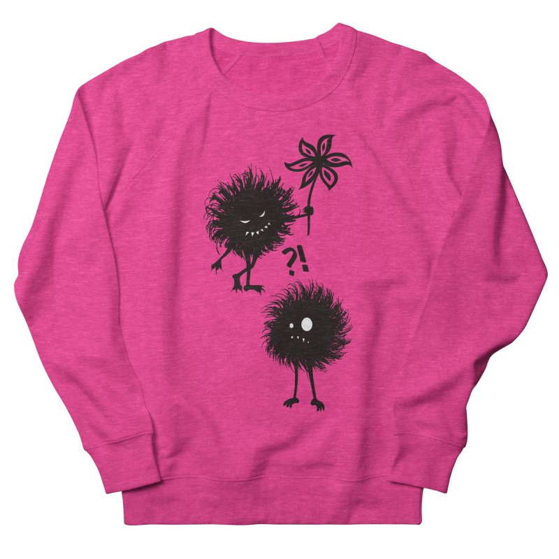Kind Evil Bug Friends Women's Sweatshirt by Boriana's Artist Shop