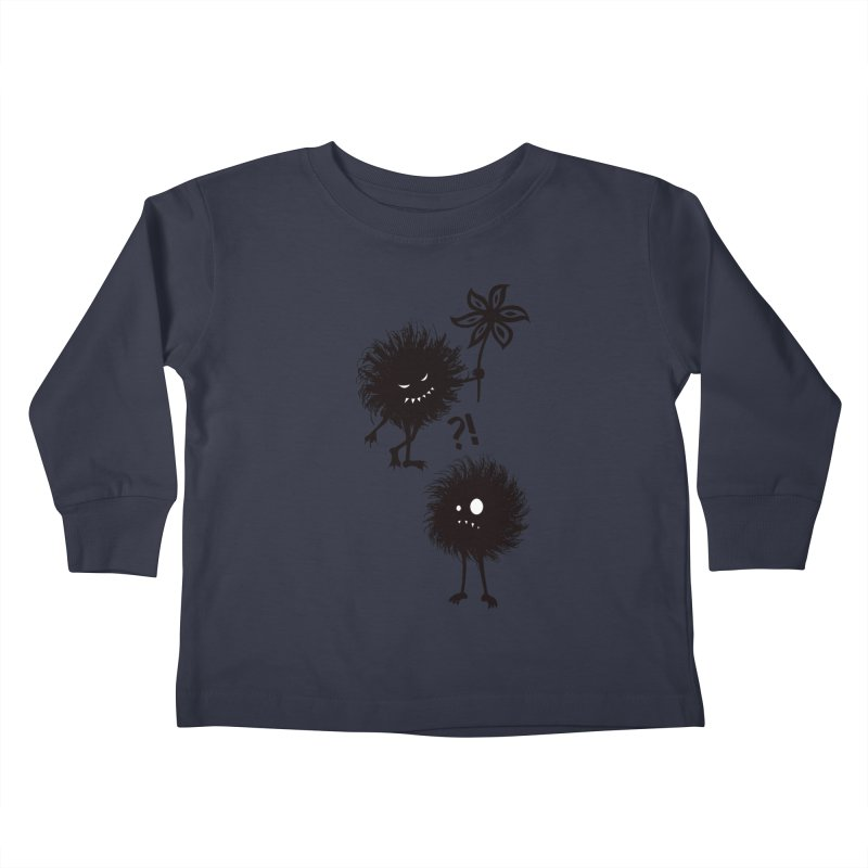 Kind Evil Bug Friends Kids Toddler Longsleeve T-Shirt by Boriana's Artist Shop