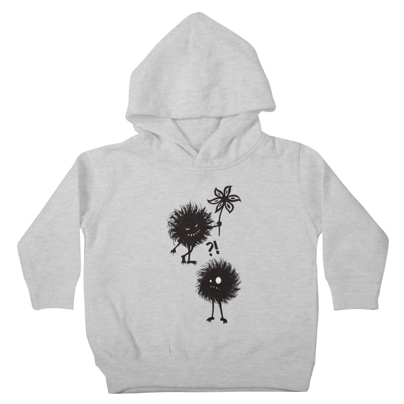 Kind Evil Bug Friends Kids Toddler Pullover Hoody by Boriana's Artist Shop