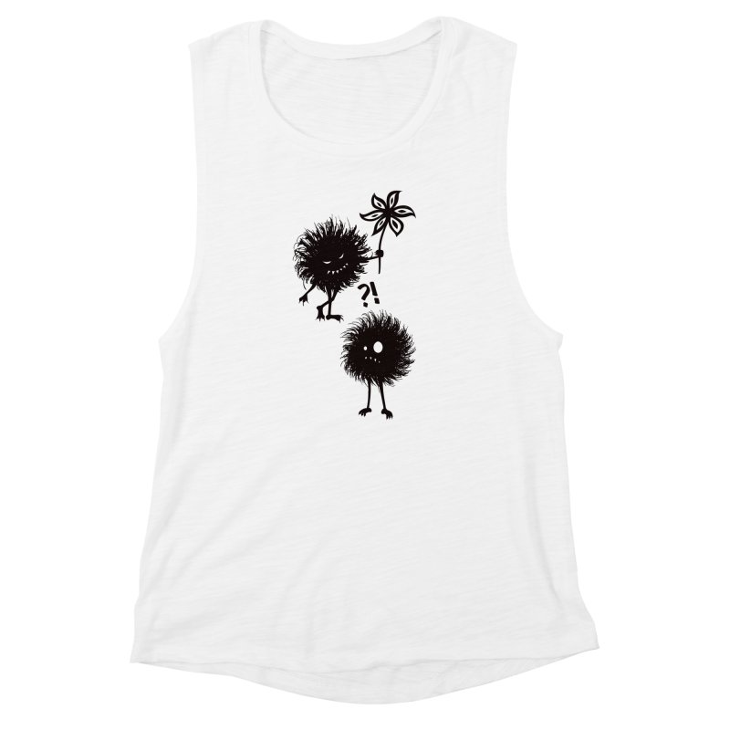 Kind Evil Bug Friends Women's Muscle Tank by Boriana's Artist Shop