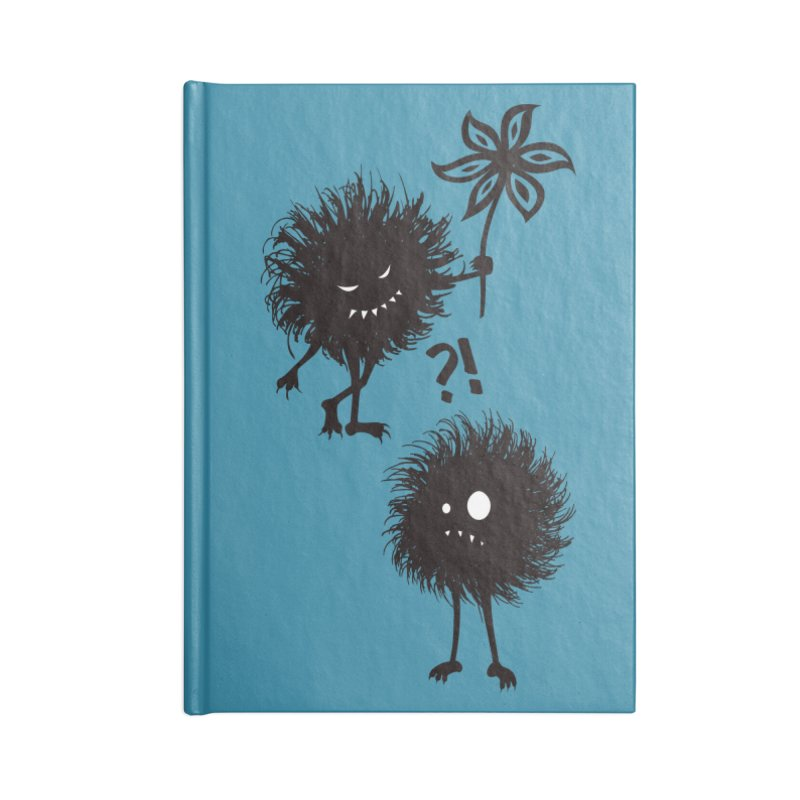 Kind Evil Bug Friends Accessories Notebook by Boriana's Artist Shop